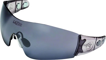 200dcfbe76 Lazer Magneto 1 (M1-M) Sunglasses  Crystal Smoke with Three Lenses - Modern  Bike