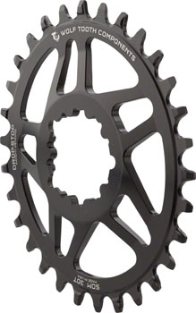 36T SRAM Wolf Tooth Components Powertrac Elliptical Drop-Stop Chainring