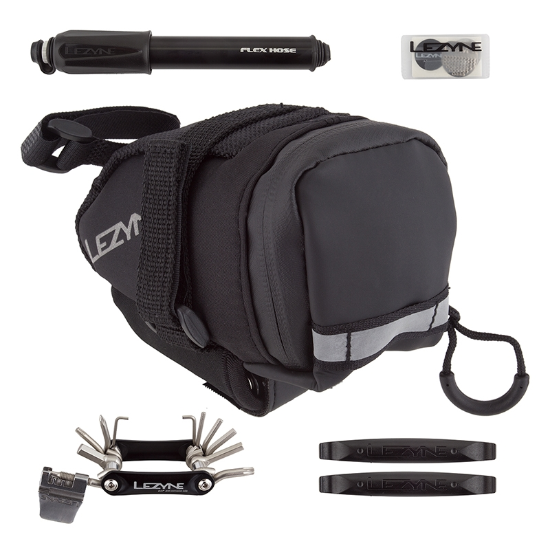 Tools Patch Kit Lezyne M Caddy Seat Bag with CO2
