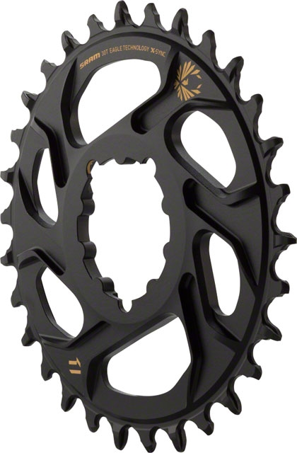 SRAM X-Sync 2 Eagle Direct Mount 38T Chainring 3mm Offset for Boost Black