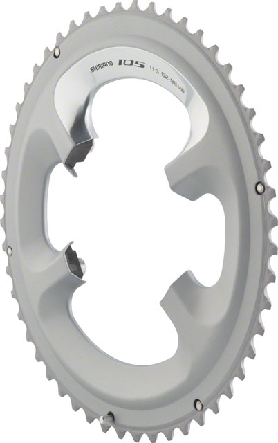 NEW Shimano 105 5800-L 52t 110mm 11-Speed Chainring For 52//36t Black