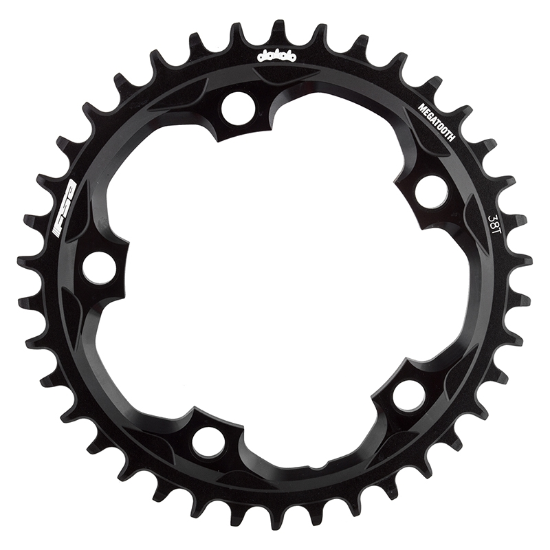 FSA Megatooth chainring black 110BCDx44T,1x10//11sp