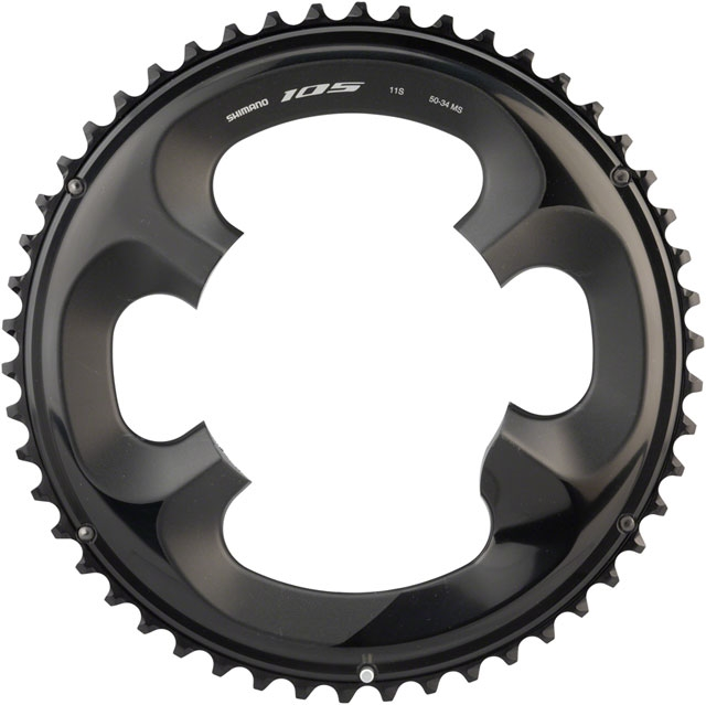 Shimano 105 FC-R7000 53T Outer Chainrings 11-Speed Black NEW