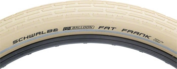 Schwalbe Fat Frank HS 375 Cruiser Bicycle Tire Wire Bead