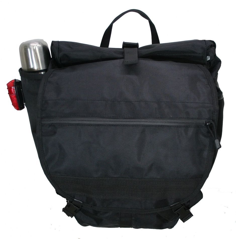Banjo Brothers Waterproof Backpack Pannier: Black - Modern Bike