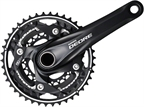 Shimano Deore M610 10-Speed 175mm 26/36/48t  Black Crankset with Bottom Bracket