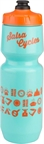 Salsa Wide Mouth Purist Water Bottle: 26oz Icons, Turquoise