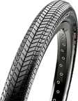"""Maxxis Grifter BMX Tire 20 x 2.3"""", Dual Compound, Silkskin bead to bead protection: Black"""