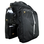 Topeak MTX TrunkBag DXP With Expandable Top and Expandable Panniers for MTX Racks