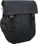 Banjo Brothers Minnehaha Waterproof Canvas Pannier: Black