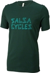 Salsa Barnwood Logo Men's T-Shirt: Green
