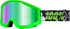 100% Strata Goggle Crafty Lime with Mirror Green Lens