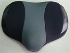 Sun Recumbent Replacement Cushion w/Tri-Stitch Cover Black/Gray