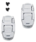 Sidi Shoe Replacement Caliper Shoe Buckle: White