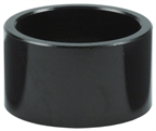 """Wheels Manufacturing Aluminum 1 1/8"""" Headset Stack Spacers - Black"""