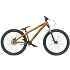 "Radio Griffin Pro 26"" 2019 Complete Dirt Jump Bike 22.8"" Top Tube Translucent Gold"