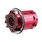 Tune Skyline Rear Hub Cassette Body, HG11 Spd - Red