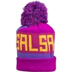 Salsa Beargrease Pom Beanie, Purple