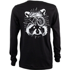 Surly Garbage Patrol Long Sleeved Tee - Black/ White