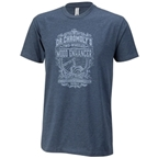 Surly Dr. Chromoly's Elixir Men's T-Shirt - Midnight Navy/Gray