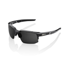 100% Speedcoupe Sports Performance Eyewear, Gray PEAKPOLAR Lens/ Polished Black